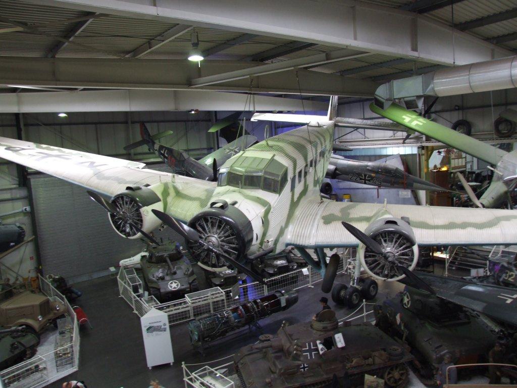 3-Motoriges Flugzeug